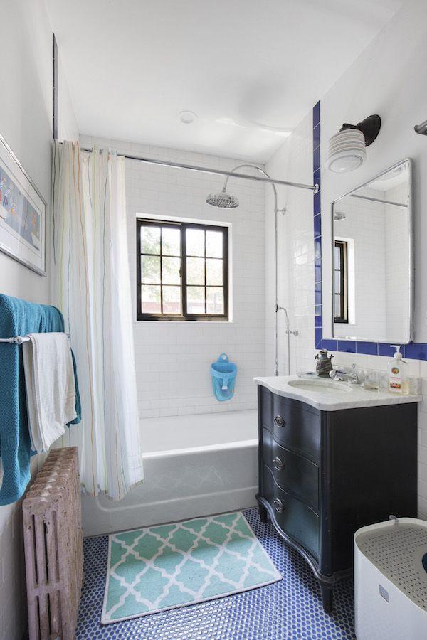 Color And Charm In A Designer S Tudor Townhouse Budget Bathroom Remodel Bathroom Remodel Cost Diy Bathroom Remodel
