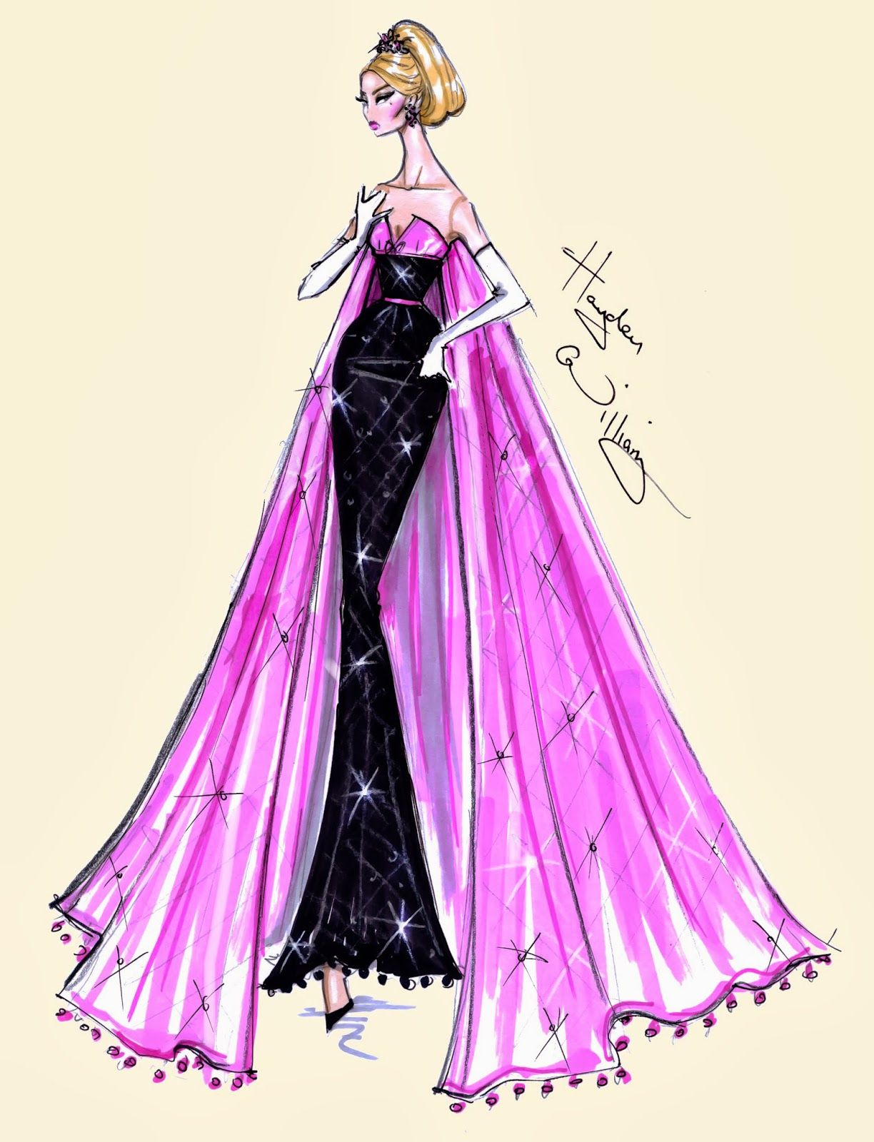 New Year Couture 2014 by Hayden Williams | A Beautiful Sketch ...