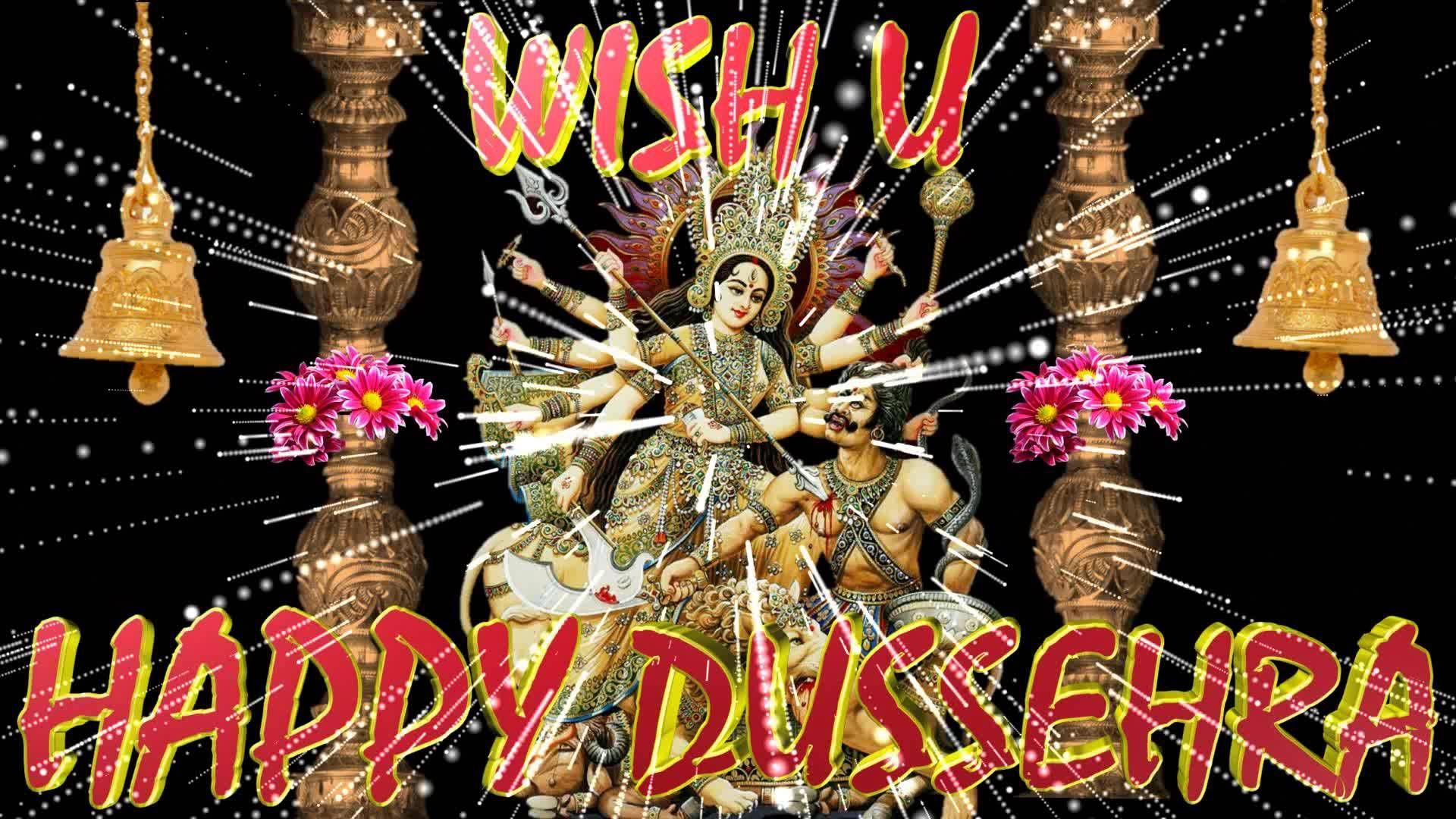 Happy Dussehra 2016wishesdasaragreetingsimagesecardanimation