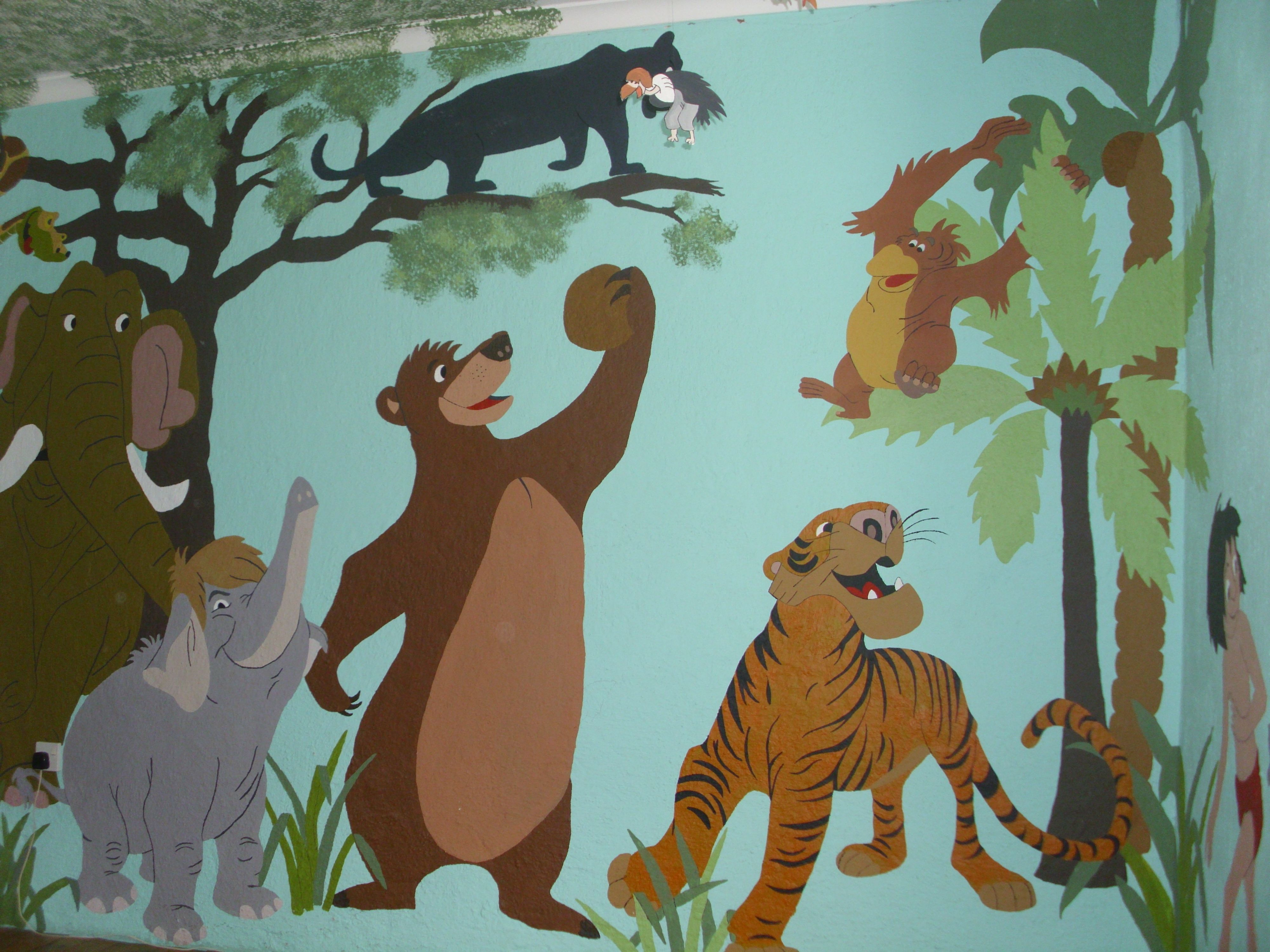 Best Mural In Boys Bedroom Mural Kids Room Scooby Doo 400 x 300