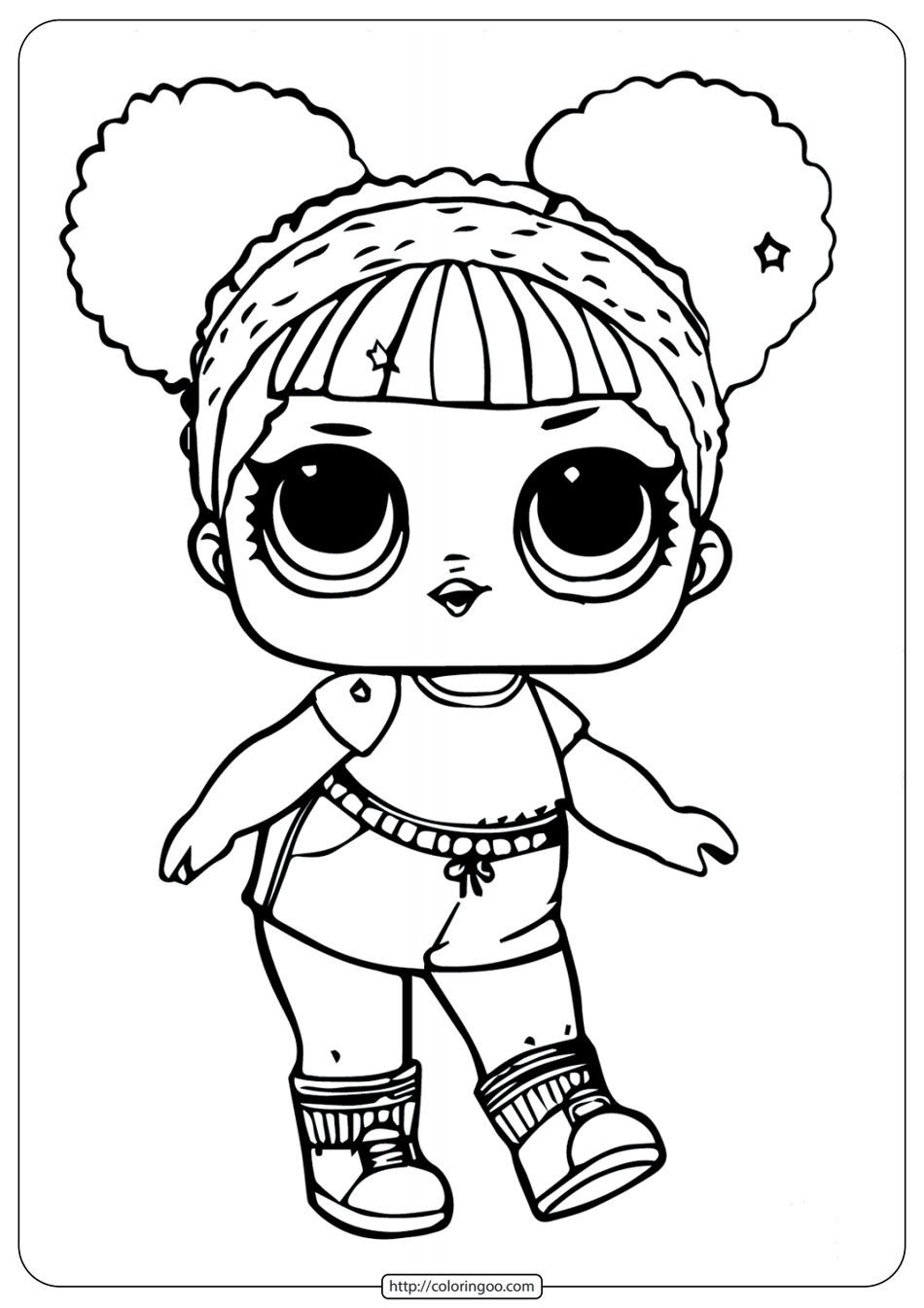 Coloring Pages Lol Dolls Kitty Coloring Hello Kitty Coloring Lol Dolls