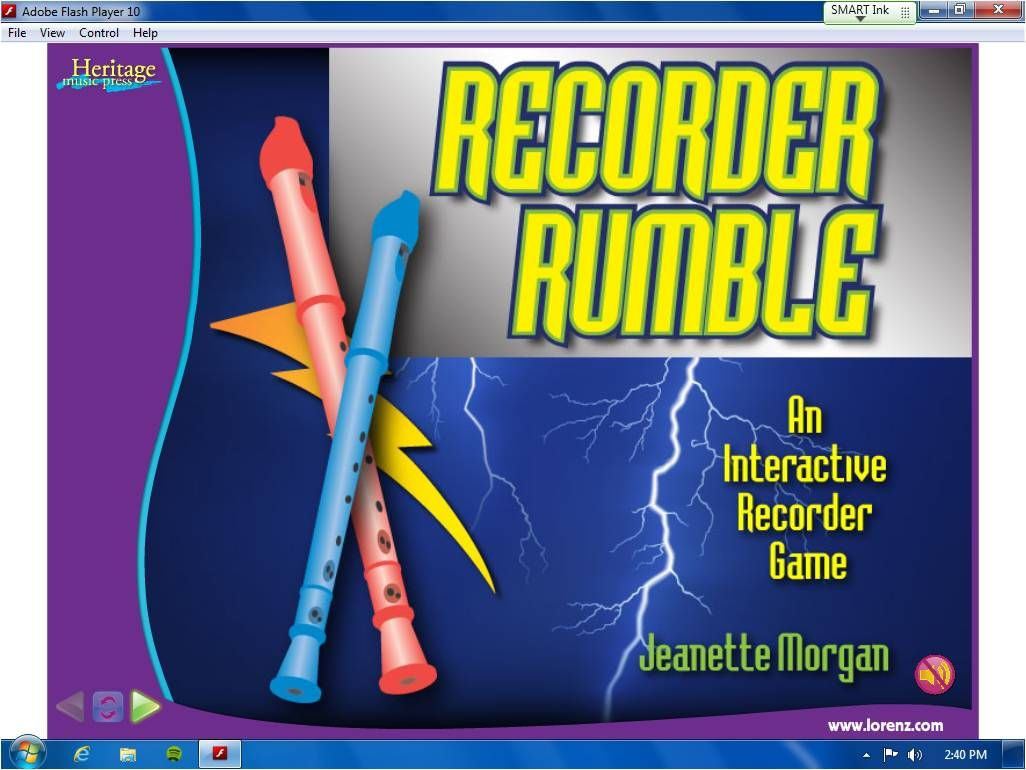 We Music Hses Recorder Time