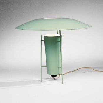 George nelson holiday house table lamp gotham lighting usa 1950 george nelson holiday house table lamp gotham lighting usa 1950 enameled aluminum and steel 26 aloadofball Gallery