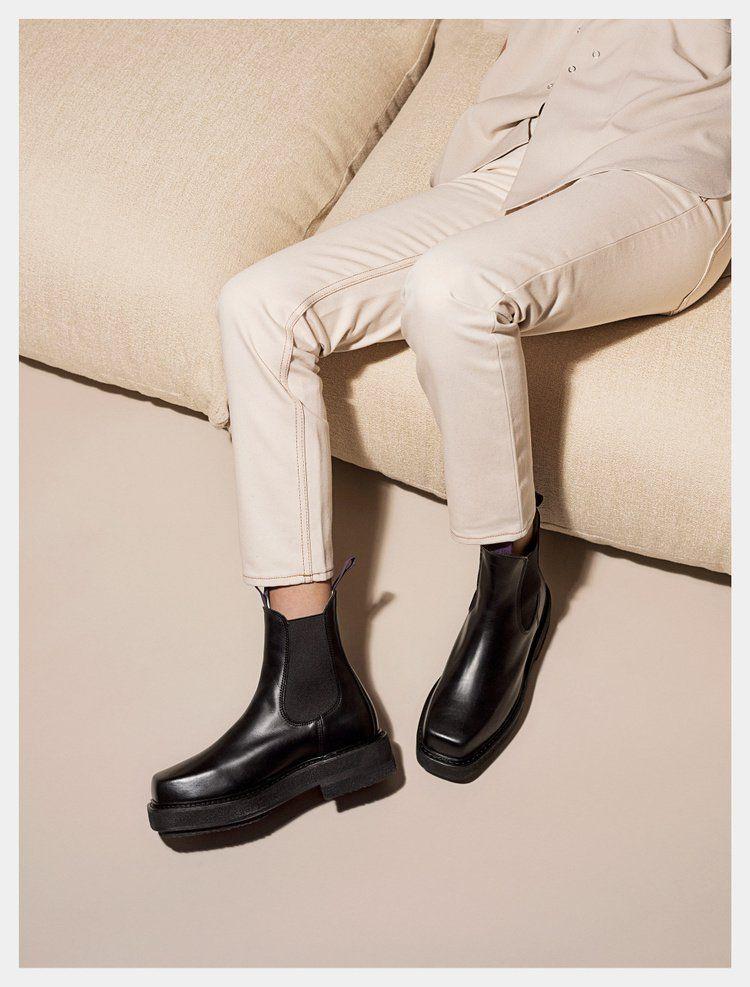 on sale 567d9 3fb52 Eytys Ortega Leather Black Träskor, Skor, New Balance Herrar, Läder, Svart,