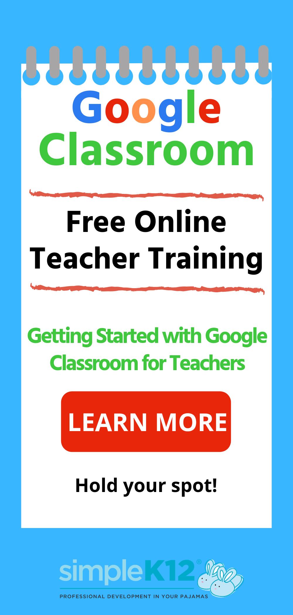 Photo of Free Google Training 4 Teachers