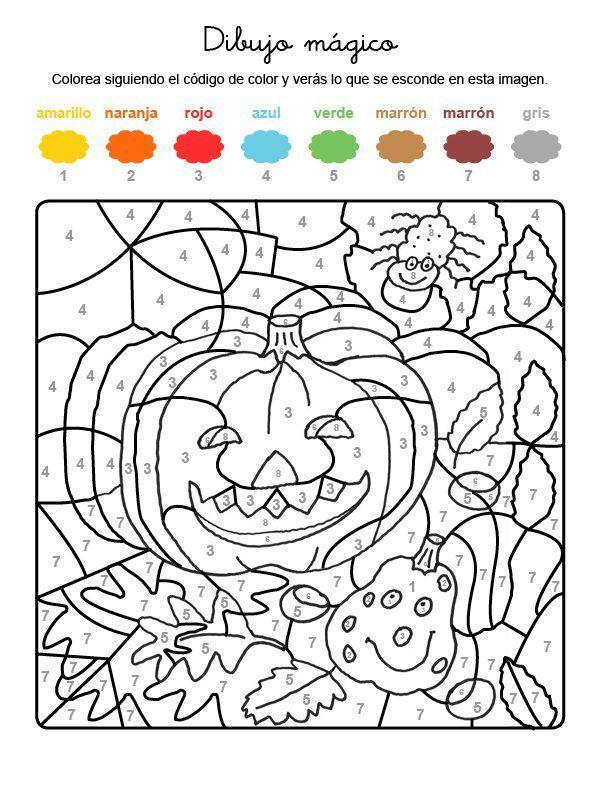 Dibujo Mágico De Calabaza | Pumpkins en 2018 | Pinterest | Calabazas ...