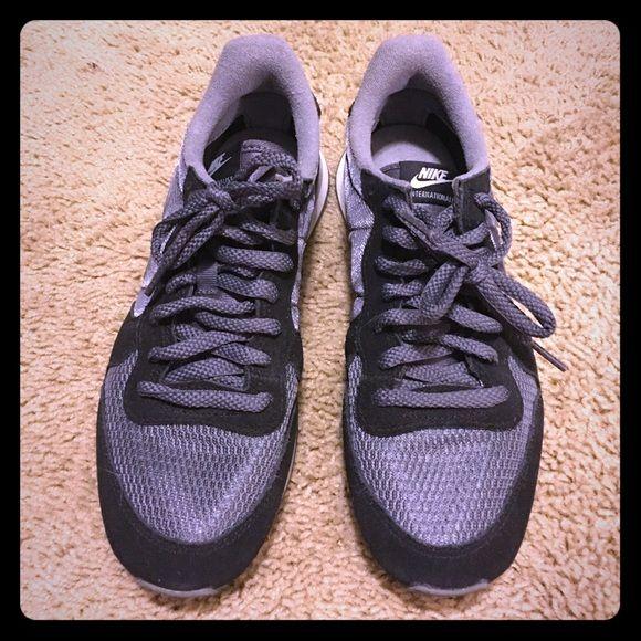 Nike Internationalist Sneaker size 8 Black, grey and white Nike  Internationalist, ordered directly from