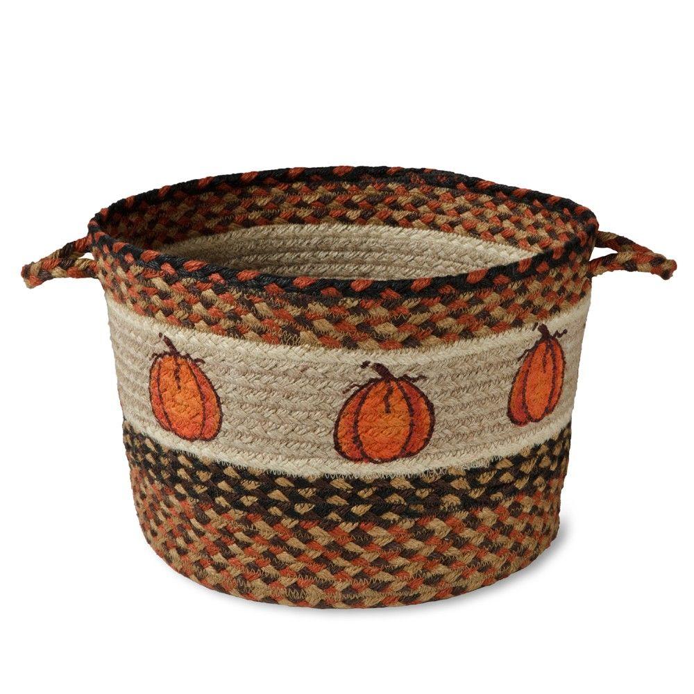 Pumpkin Jute Basket | Sturbridge Yankee Workshop