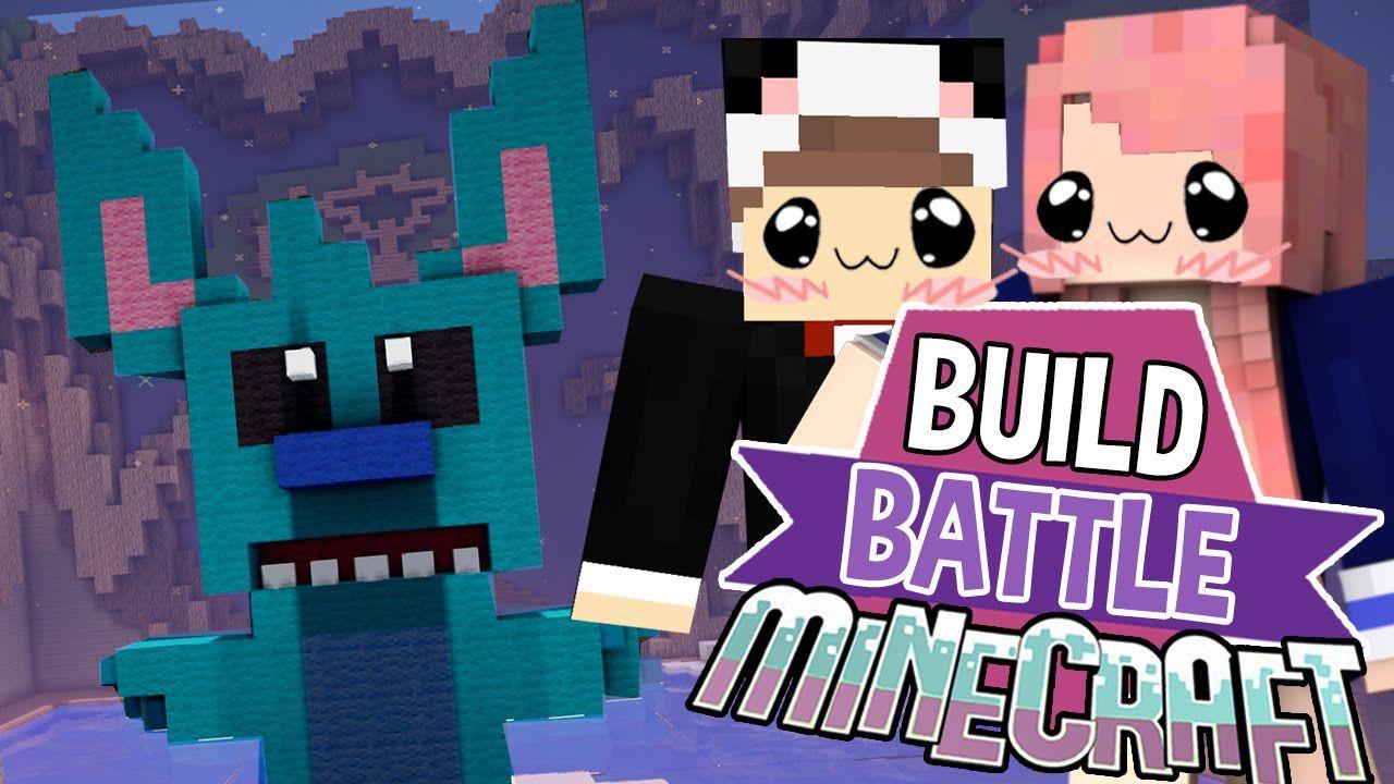 Lilo & Stitch Build Battle Minecraft Building Minigame