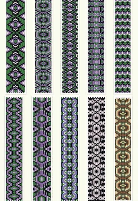 Peyote Sch Patterns
