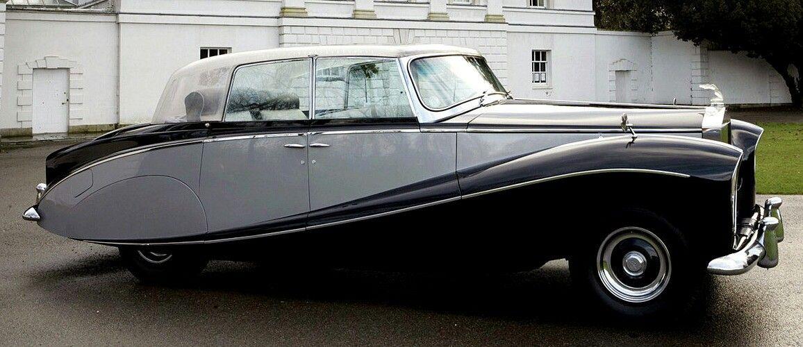 Rolls Royce Wraith Perspex Top Saloon 1951 By Hooper Cars