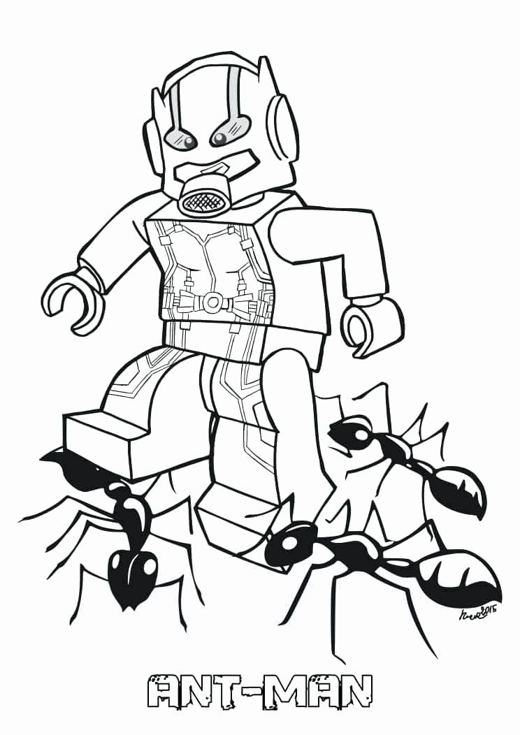 Lego Man Coloring Page Awesome Ant Man Coloring Pages Best