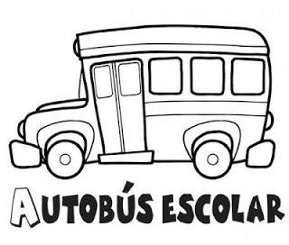 Los Medios De Transporte Autobus Escolar Transporte Preescolar Medios De Transporte