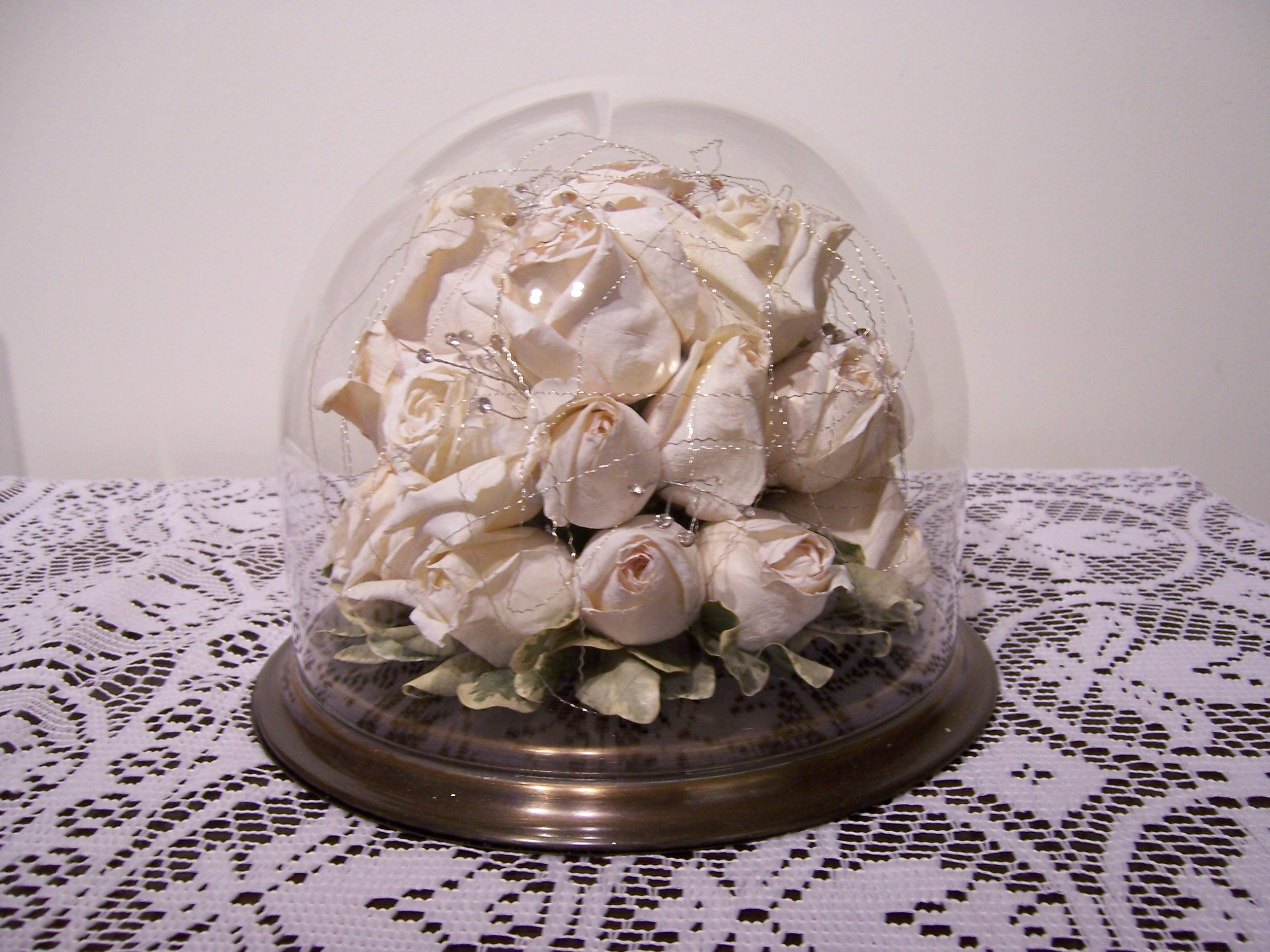 Preserve your wedding bouquet and display it for years to come! It will make you remember your special day and smile!