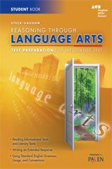 Steck-Vaughn GED Test Preparation Student Edition Reasoning Through Language Arts