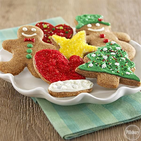 Easy Gingerbread Cut-Out Cookies Recipe Gingerbread, Crisco