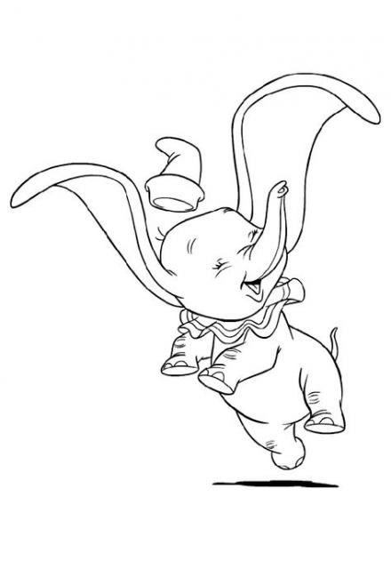 49+ Trendy Ideas Tattoo Disney Dumbo Coloring Pages