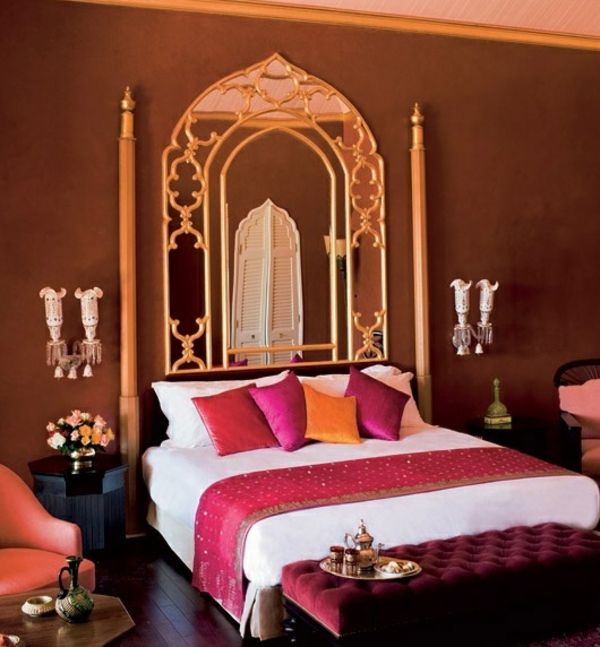 Orientalisches schlafzimmer dekoration  Orientalisches Schlafzimmer gestalten - wie im Märchen wohnen ...