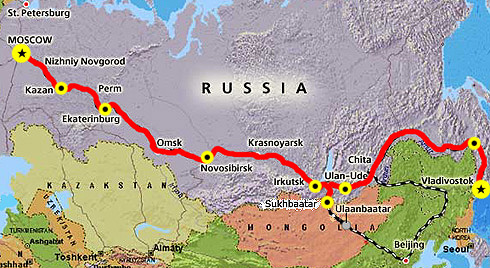 The Original Trans Siberian Route Spanning Two Continents And Nine Time Zones Commences In Vladivostok Far Trans Siberian Railway Train Tour Trans Siberian
