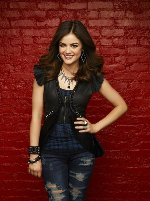 Pretty Little Liars Season 3 Promo Photoshoot Lucy Hale Aria