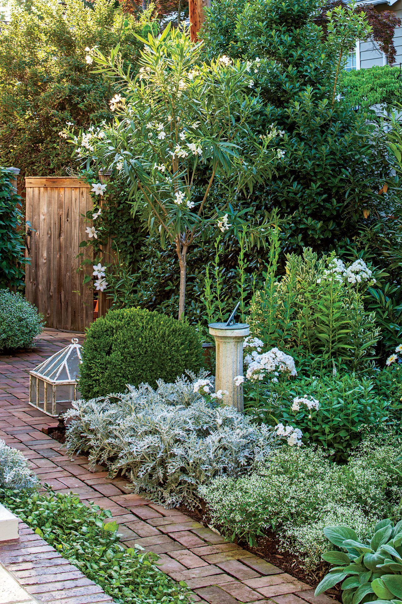 Small Space Garden, Big Impact is part of Country garden decor, Beautiful gardens, Cottage garden, Shade garden, Garden spaces, Moon garden - This Washington, D C , garden proves that a focused color scheme and thoughtfully chosen plants are the solutions to maximizing smallspace potential