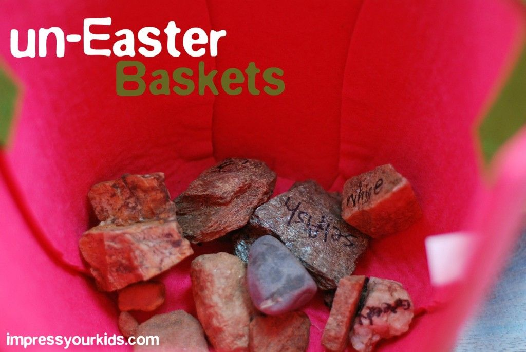 I love this tradition making easter baskets tell the story of easter uneaster baskets cool idea for making easter baskets about jesus negle Images