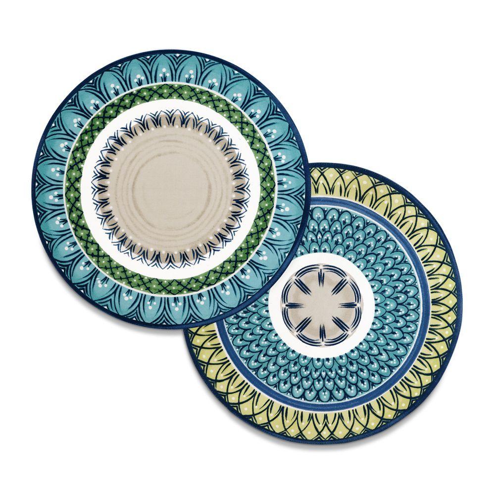 Villeroy Boch Casale Blu Placemats Set Of 4 Coloring Placemats Colorful Prints Villeroy Boch