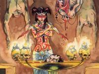 Shahai dans un rituel de sang