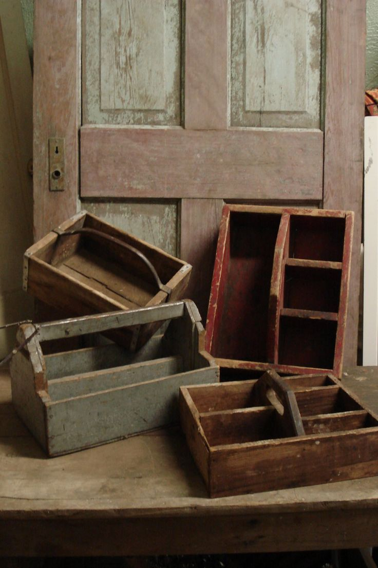 Vintage Wood Tool Caddy Woodworking Projects Amp Plans