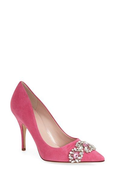kate spade new york 'larsa' pointy toe pump (Women) available at #Nordstrom