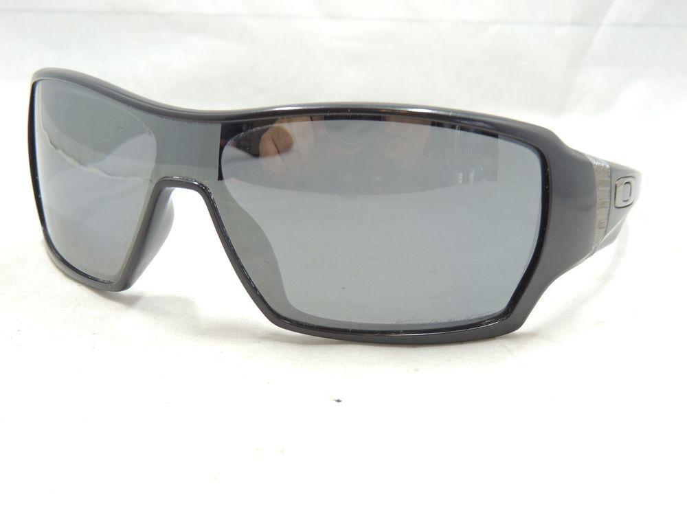 24121f0554d Oakley Fives (41)2 9238 04 Black Sunglasses  375 Scratched Lenses ...