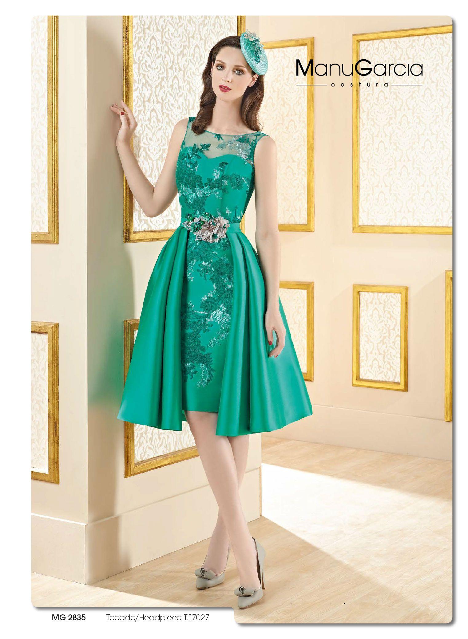 vestido de fiesta Manu Garcia (4) | vestidos | Pinterest | Vestidos ...