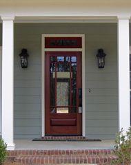 Elegant Prairie Style Entry Doors