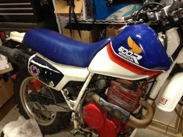 1987 Honda xl600r - $1000 | Cheap Sacramento Craigslist