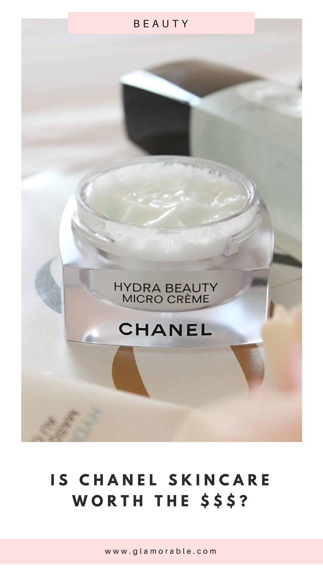 New Additions To Chanel Hydra Beauty Line Glamorable Chanel Hydra Beauty Beauty Makeup Tips Beauty Mask