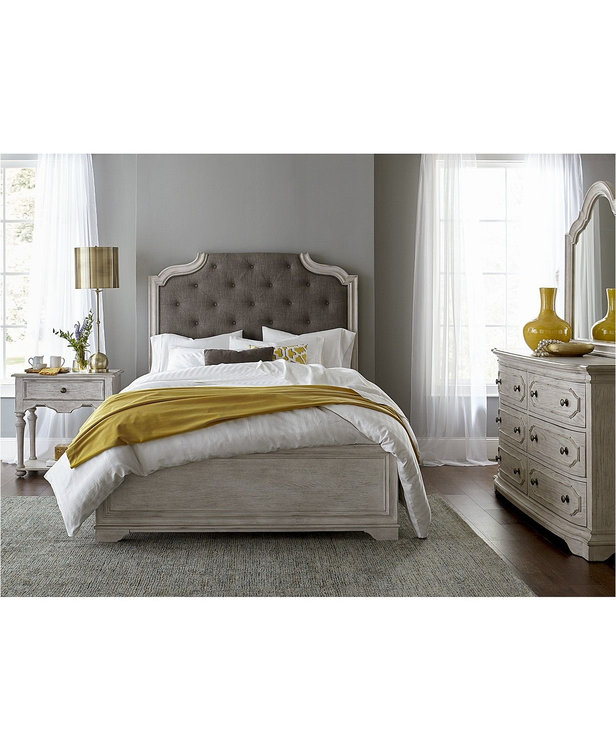 Furniture Closeout! Hadley California King Bed, Created for Macy's