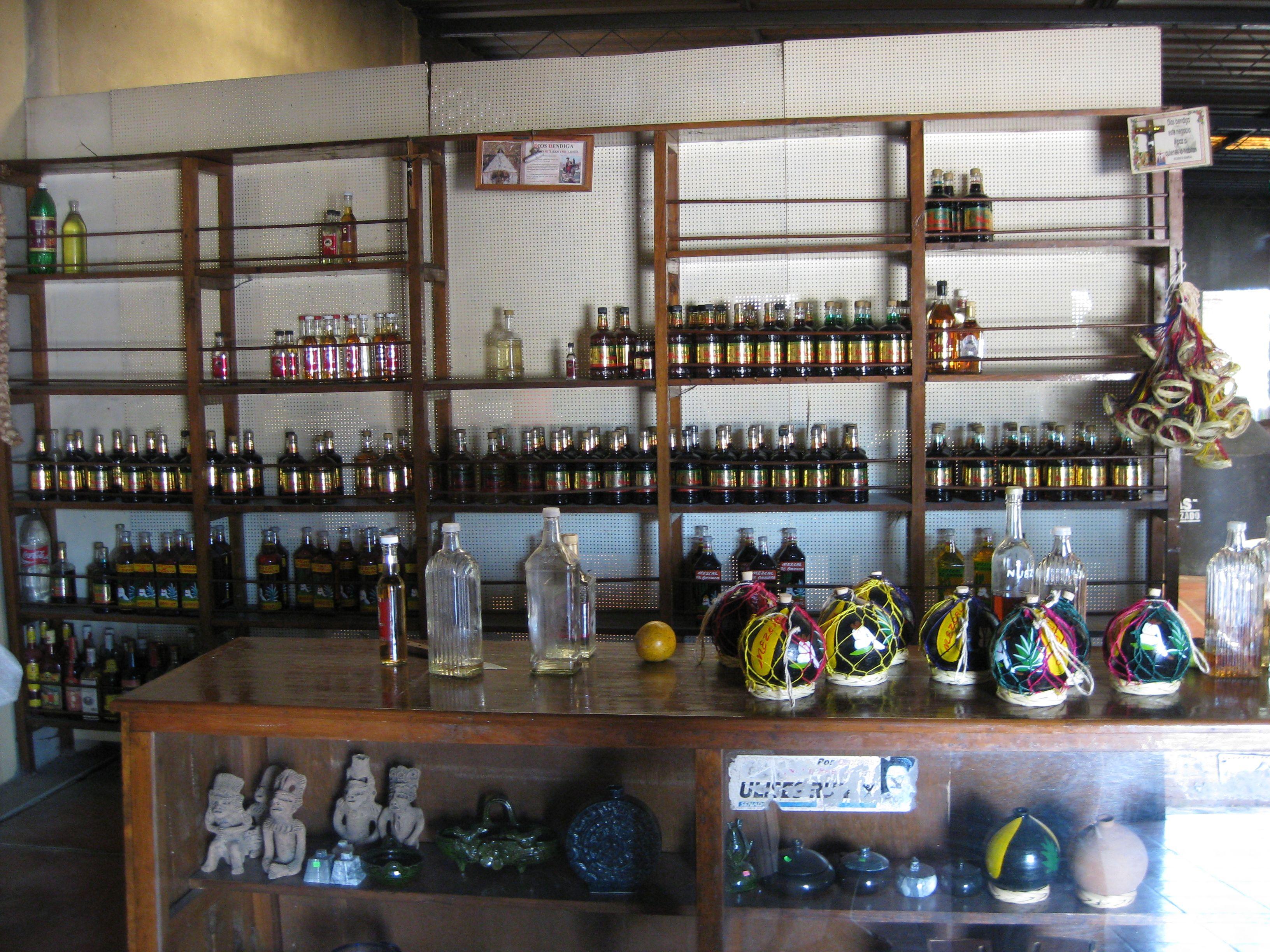 A fabric de Mezcal in Oaxaca