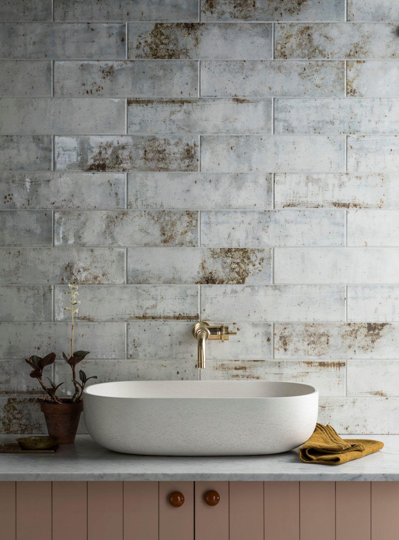 Camden White Ceramic Tile In 2020 Mandarin Stone Shower Remodel