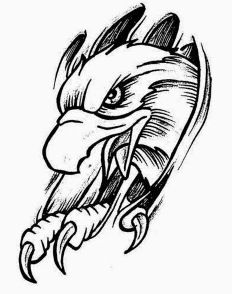 Eagle tattoo stencils | Tattoo idea | Tattoo stencils