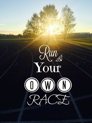 Quote Motivational Run Your Own Race Words Quotes