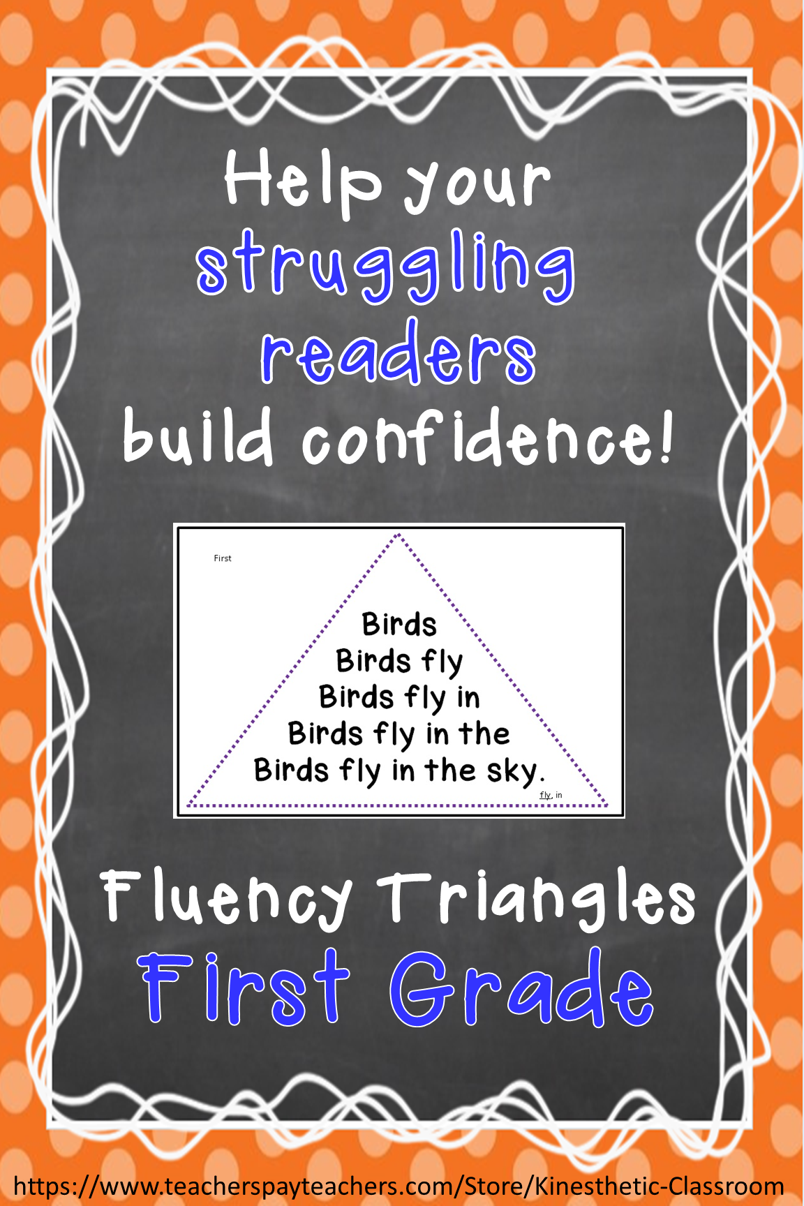 Reading Fluency Activity Fluency Triangles For First