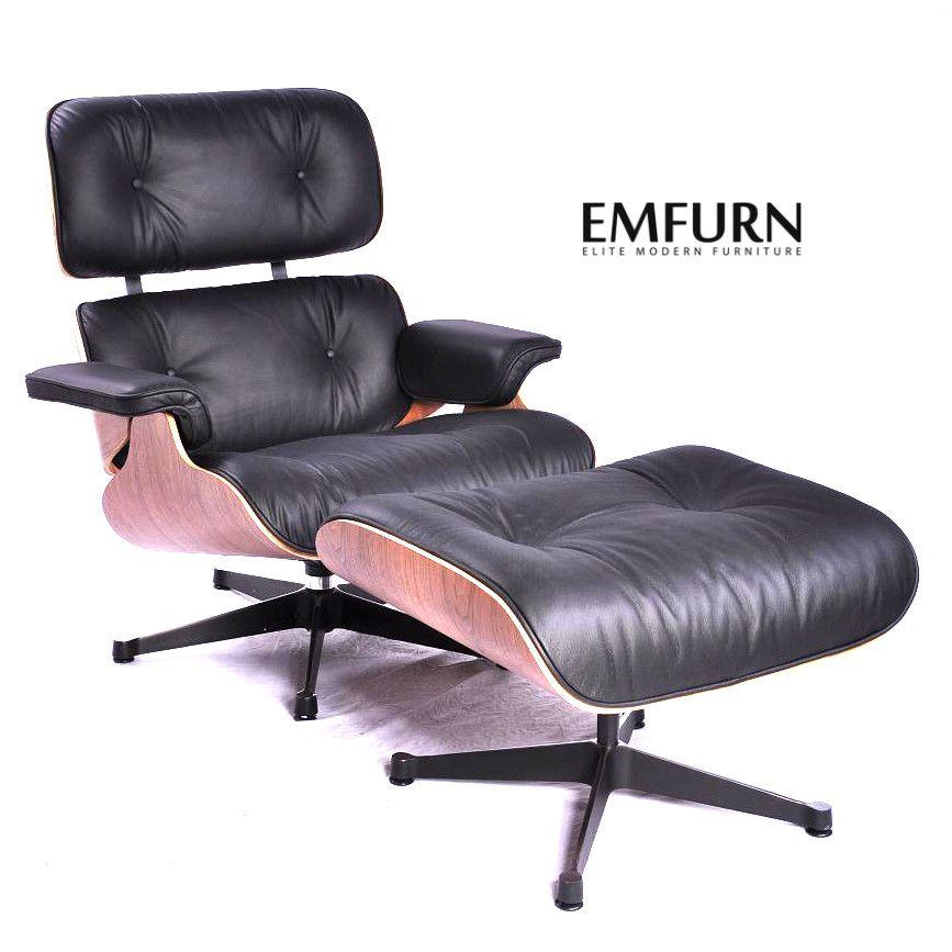 Eames Lounge Chair Ottoman Premium Reproduction Eames Style