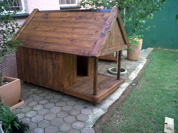 Pallet Dog Kennel Bar With Images Diy Dog House Pallets Dog