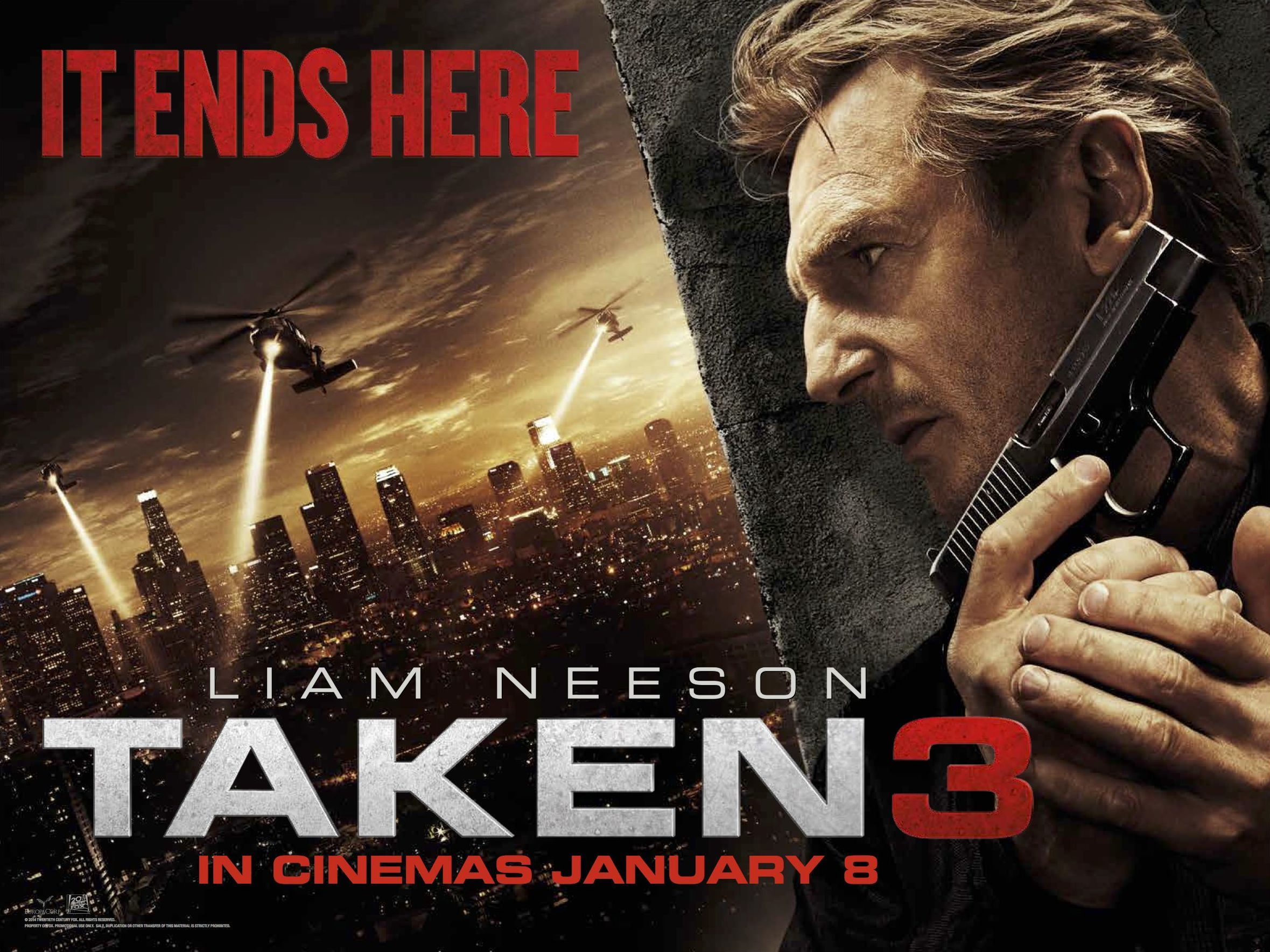 Taken 3 Hollywood Action Movie Poster Image-7851