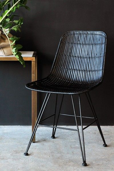 Black Rattan Chair Hanging Egg Johannesburg Dining Chairs Furniture More