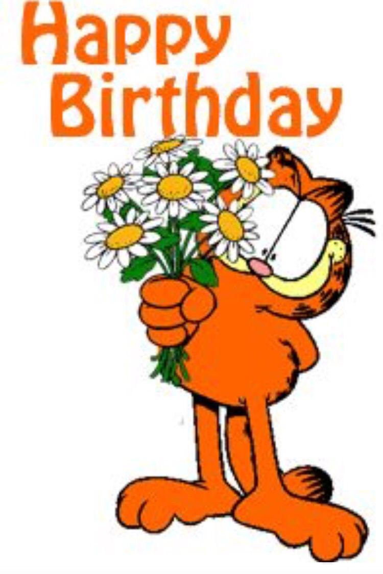 Garfield Birthday Gif Happy Birthday Greetings Happy Birthday