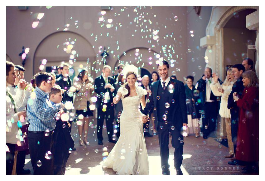 Interesting And Joyous Wedding Send Off Ideas