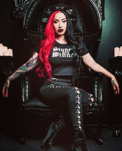 New Years Day CZ/SK Ash Costello New years day band