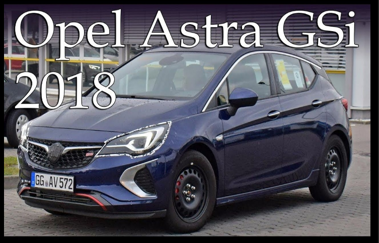 The Opel Astra 2018 offers outstanding style and technology both ...