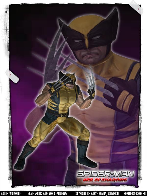Spider Man Web Of Shadows Wolverine Wolverine Comic Marvel Wolverine Marvel Wolverine